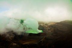 Εθνικό ηφαίστειο Poas πάρκων στη Κόστα Ρίκα Στοκ φωτογραφίες με δικαίωμα ελεύθερης χρήσης