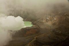 Εθνικό ηφαίστειο Poas πάρκων στη Κόστα Ρίκα Στοκ εικόνα με δικαίωμα ελεύθερης χρήσης