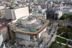 Εθνικό θέατρο Βουκουρέστι στοκ φωτογραφία