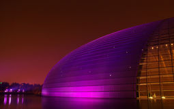 εθνικό θέατρο της Κίνας Στοκ Εικόνες