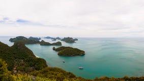 Εθνικό θαλάσσιο πάρκο ANG-λουριών, Ταϊλάνδη Στοκ Εικόνες