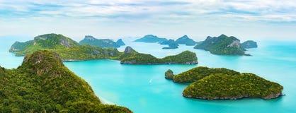 Εθνικό θαλάσσιο λουρί ANG της MU Ko πάρκων, Ταϊλάνδη Στοκ Εικόνες