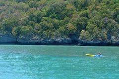 Εθνικό θαλάσσιο πάρκο λουριών ANG, επαρχία του Σουράτ Thani, Ταϊλάνδη Στοκ φωτογραφίες με δικαίωμα ελεύθερης χρήσης