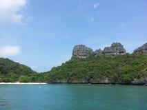 Εθνικό θαλάσσιο πάρκο Angthong, Ταϊλάνδη Στοκ Εικόνες
