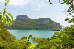 Εθνικό θαλάσσιο πάρκο AngThong Στοκ Φωτογραφίες