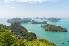 Εθνικό θαλάσσιο πάρκο AngThong Στοκ φωτογραφία με δικαίωμα ελεύθερης χρήσης