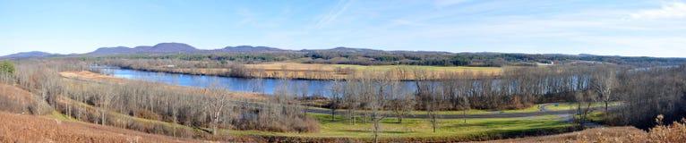 Εθνικό ιστορικό πάρκο Saratoga, Νέα Υόρκη, ΗΠΑ στοκ φωτογραφία με δικαίωμα ελεύθερης χρήσης