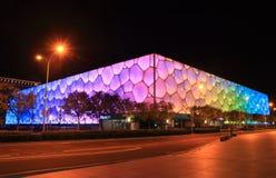 Εθνικό κέντρο Πεκίνο Κίνα Aquatics Στοκ Φωτογραφία