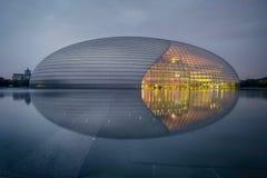 Εθνικό κέντρο των τεχνών προς θέαση & του γκρίζου τόνου στοκ εικόνες με δικαίωμα ελεύθερης χρήσης