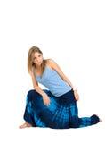 εθνικό κορίτσι ενδυμάτων Στοκ φωτογραφία με δικαίωμα ελεύθερης χρήσης