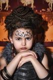 Εθνικό κορίτσι Στοκ Φωτογραφίες