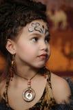 Εθνικό κορίτσι Στοκ εικόνα με δικαίωμα ελεύθερης χρήσης