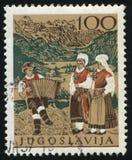 Εθνικό κοστούμι της Σλοβενίας Στοκ φωτογραφία με δικαίωμα ελεύθερης χρήσης