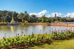 Εθνικό κράτος το Μιανμάρ Pyin Oo Lwin Mandalay κήπων Kandawgyi στοκ φωτογραφία με δικαίωμα ελεύθερης χρήσης