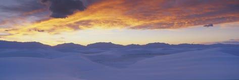 εθνικό λευκό άμμων μνημείων Στοκ Εικόνα