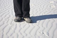 εθνικό λευκό άμμων μνημείων Στοκ Φωτογραφίες