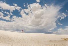 εθνικό λευκό άμμων μνημείων Στοκ εικόνες με δικαίωμα ελεύθερης χρήσης