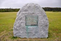 Εθνικό μνημείο αδελφών Wright, NC, ΗΠΑ στοκ εικόνες με δικαίωμα ελεύθερης χρήσης