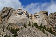 Εθνικό μνημείο υποστήριγμα-Rushmore Στοκ Φωτογραφία