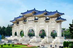 Εθνικό μνημείο Chiang Kai -Kai-shek, Ταϊπέι - Ταϊβάν Στοκ Φωτογραφία