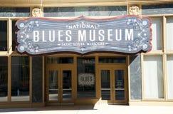 Εθνικό μουσείο μπλε στο Σαιντ Λούις, Μισσούρι Στοκ Φωτογραφίες