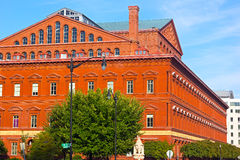 Εθνικό μουσείο οικοδόμησης στο Washington DC Στοκ Φωτογραφία