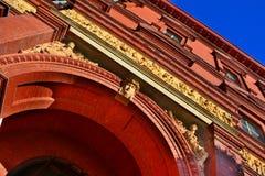 Εθνικό μουσείο οικοδόμησης, Washington DC, εξωτερικό Στοκ Φωτογραφίες