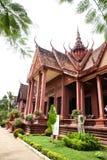 Εθνικό Μουσείο στην ασημένια παγόδα της Royal Palace ημέρας της ανεξαρτησίας της Καμπότζης Στοκ Φωτογραφίες