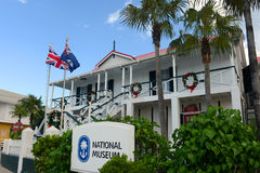 Εθνικό Μουσείο στην πόλη του George, νησιά Κέιμαν Στοκ Εικόνες