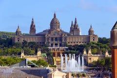 Εθνικό Μουσείο στη Βαρκελώνη. Ισπανία Στοκ Εικόνες