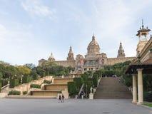 Εθνικό Μουσείο της καταλανικής τέχνης Στοκ Φωτογραφίες