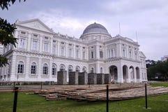 Εθνικό Μουσείο της Σιγκαπούρης στην ημέρα στοκ φωτογραφία με δικαίωμα ελεύθερης χρήσης