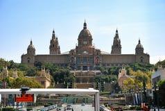 Εθνικό Μουσείο της τέχνης της Καταλωνίας MNAC, Βαρκελώνη Ισπανία Στοκ Εικόνες