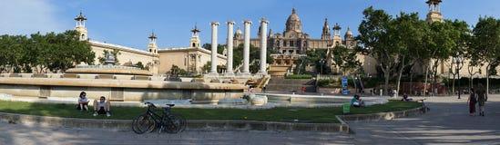 Εθνικό Μουσείο Placa de Espanya, Βαρκελώνη Στοκ φωτογραφία με δικαίωμα ελεύθερης χρήσης