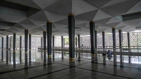 Εθνικό μουσουλμανικό τέμενος Κουάλα Λουμπούρ Στοκ εικόνα με δικαίωμα ελεύθερης χρήσης