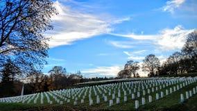 Εθνικό νεκροταφείο λουτρών VA Στοκ φωτογραφίες με δικαίωμα ελεύθερης χρήσης