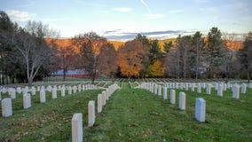 Εθνικό νεκροταφείο λουτρών VA Στοκ Φωτογραφία