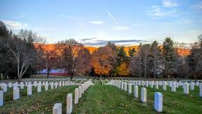 Εθνικό νεκροταφείο λουτρών VA Στοκ εικόνες με δικαίωμα ελεύθερης χρήσης