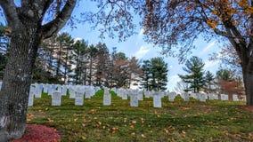 Εθνικό νεκροταφείο λουτρών VA Στοκ εικόνα με δικαίωμα ελεύθερης χρήσης