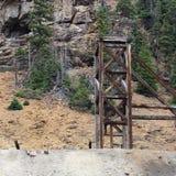Εθνικό ορυχείο της Belle headframe Στοκ εικόνες με δικαίωμα ελεύθερης χρήσης