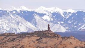 Εθνικό πάρκο αψίδων στη Γιούτα - διάσημο ορόσημο φιλμ μικρού μήκους