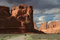 εθνικό πάρκο αψίδων στοκ φωτογραφία με δικαίωμα ελεύθερης χρήσης