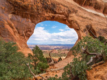 Εθνικό πάρκο αψίδων, Γιούτα, ΗΠΑ στοκ εικόνες με δικαίωμα ελεύθερης χρήσης
