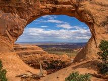 Εθνικό πάρκο αψίδων, Γιούτα, ΗΠΑ στοκ εικόνα με δικαίωμα ελεύθερης χρήσης
