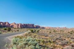 Εθνικό πάρκο αψίδων στοκ εικόνα με δικαίωμα ελεύθερης χρήσης