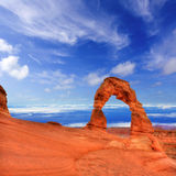 Εθνικό πάρκο αψίδων Moab Γιούτα ΗΠΑ Στοκ εικόνα με δικαίωμα ελεύθερης χρήσης