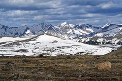 εθνικό πάρκο βουνών δύσκολο Στοκ Εικόνα