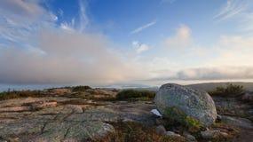 εθνικό πάρκο βουνών acadia cadillac Στοκ φωτογραφία με δικαίωμα ελεύθερης χρήσης