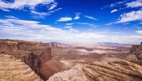 Εθνικό πάρκο Γιούτα Canyonlands Στοκ εικόνες με δικαίωμα ελεύθερης χρήσης