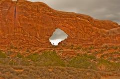 εθνικό πάρκο ΗΠΑ Utah αψίδων Στοκ εικόνες με δικαίωμα ελεύθερης χρήσης